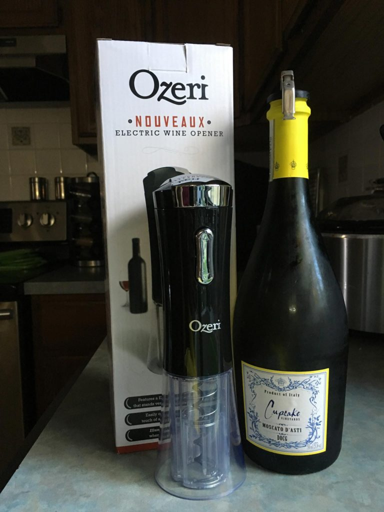 Ozeri Wine Opener - don't get stuck without your wine after the kids are in bed