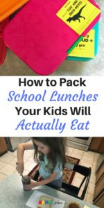How to pack school lunches your kids will actually eat - a few helpful tips for mom to get their children to eat packed lunches | www.sahmplus.com