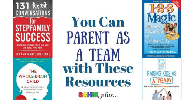 Would you like to learn how to parent as a team? Check out these parenting teamwork resources to help you work together better