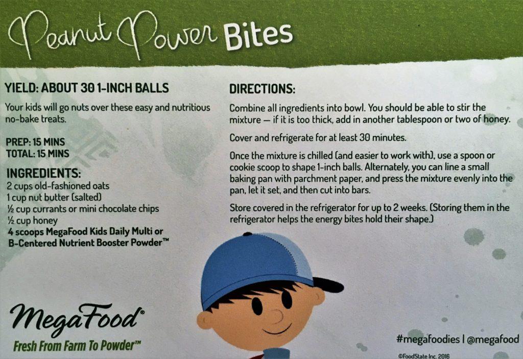peanut-power-bites-mega-food-child-vitamins recipe