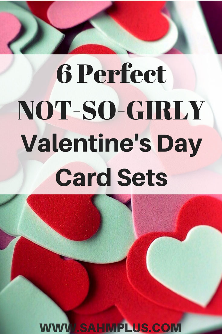 Check out these Perfect Valentine's that aren't overly girly, perfect for your child's classroom | www.sahmplus.com