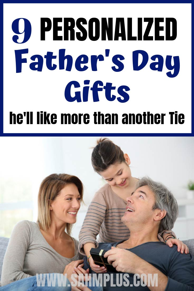 9 Personalized Father's Day Gifts to buy on Etsy.  Sentimental gifts for dad who has everything