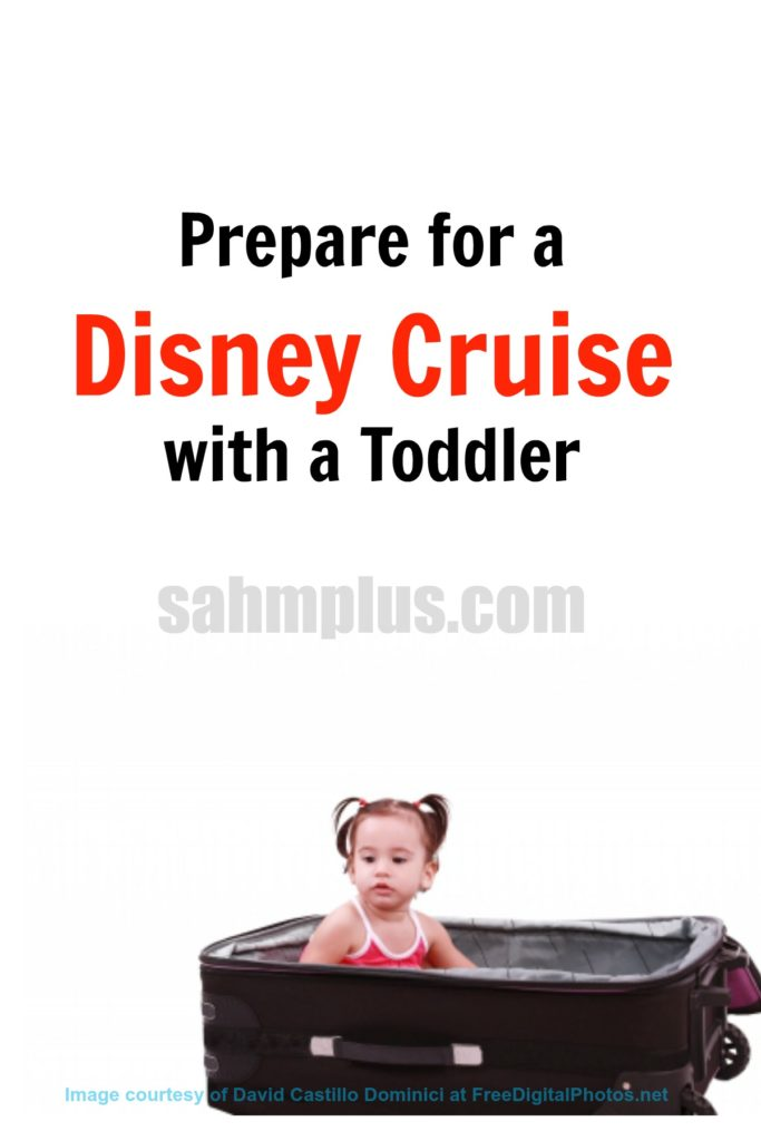 prepare disney cruise with toddler