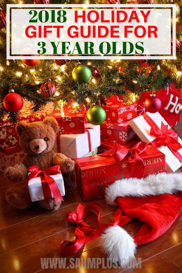 2018 Gift Guide for 3 Year Old. These will make great Christmas presents for 3 year old boys   sahmplus.com