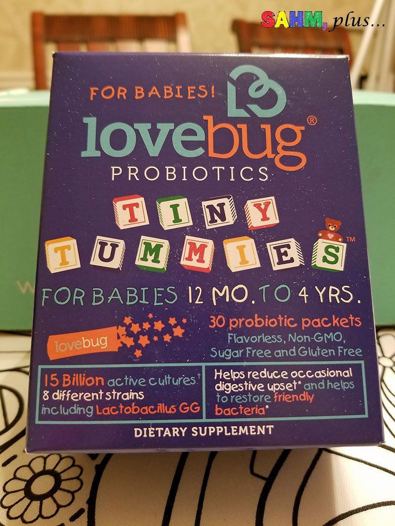 Toddler probiotics in Ecocentric Mom Box