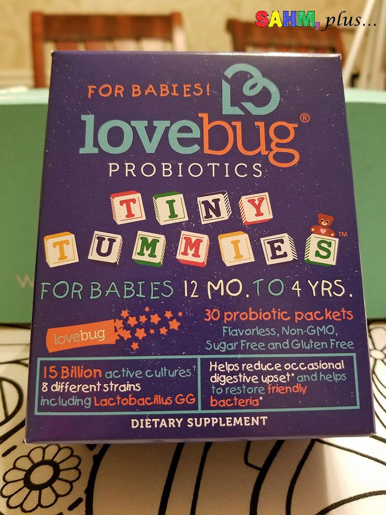 Toddler probiotics in Ecocentric Mom Box