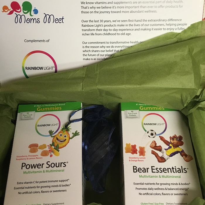 Rainbow Light Power Sours Multivitamin #momsmeet review kit | www.sahmplus.com