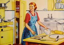 Retro housewife