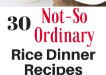 30 rice dinners you're going to want to try whether you're looking to jazz up rice or need an easy and affordable weeknight meal for your family. These rice dinner recipes look amazing! | www.sahmplus.com