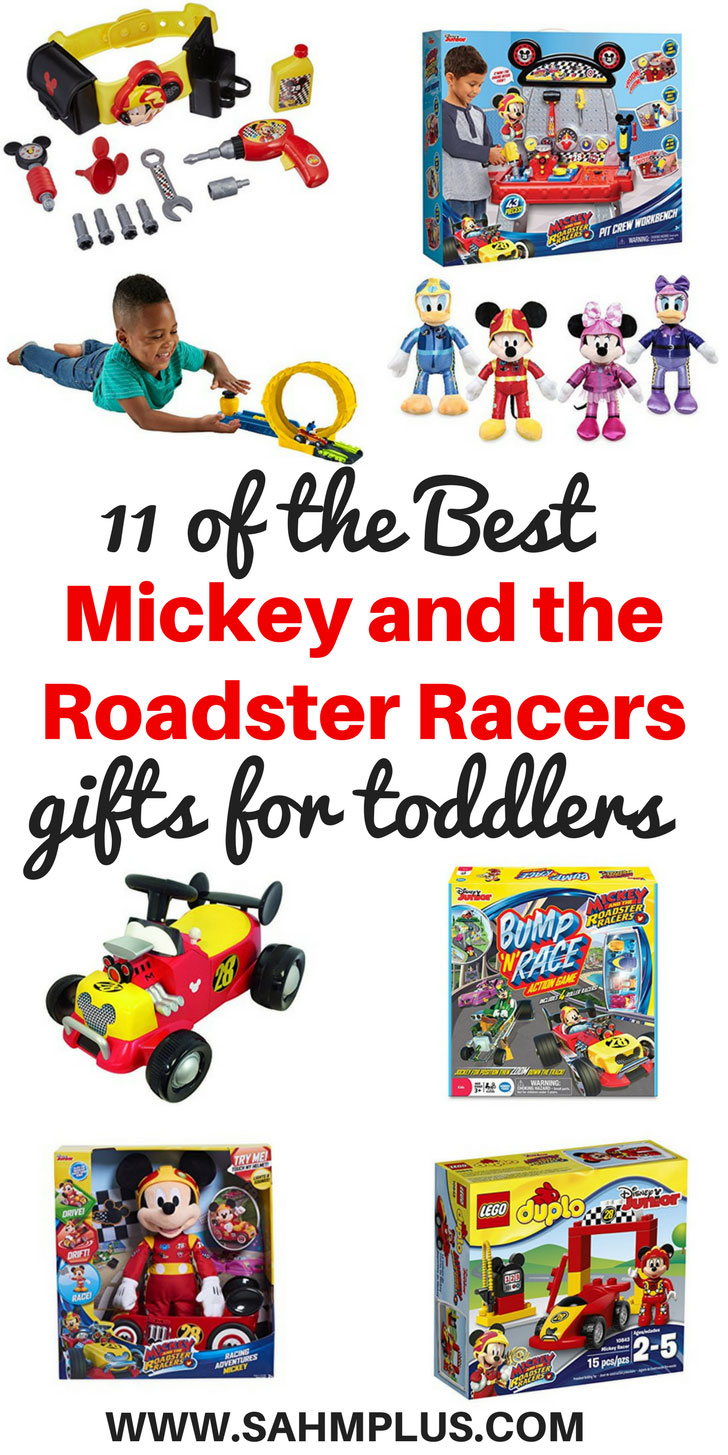 Must have Mickey and the Roadster Racers gifts for toddlers! These are 11 of the best toddler gift ideas for the little ones who love the Roadster Racers | www.sahmplus.com