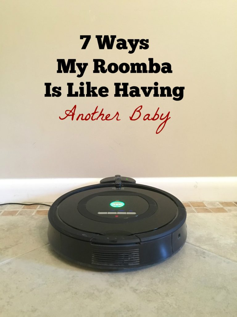 roomba is like a baby