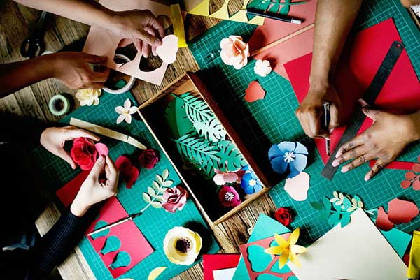hobbies for stay at home moms - idea: paper crafting