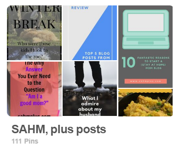 Pinterest Board image for sahm plus posts