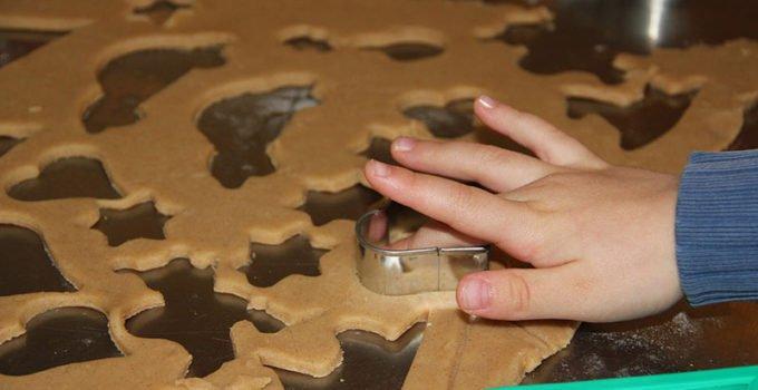 homemade salt dough toddler art and craft