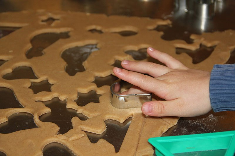 homemade salt dough toddler art and craft