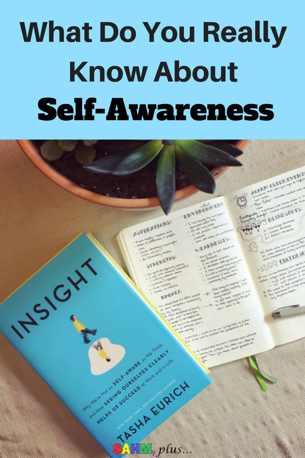 """Do you actually know about self-awareness? Things are the things you need to know about self-awareness. And, you think you may, but reading the book """"Insight"""" may prove otherwise. The importance of and exploring self-awareness through this honest book review by Cristen at www.sahmplus.com"""