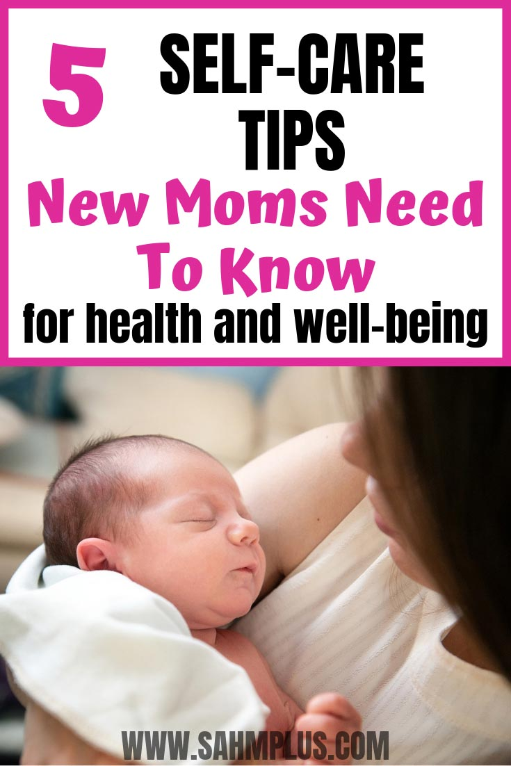 5 self-care tips for new moms that are effective and affordable to reduce risks for common health problems.