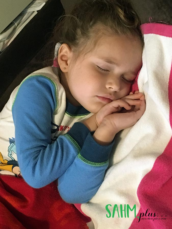Surprise! Your child is sick when it's the least opportune time
