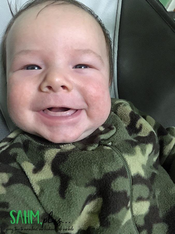 smiling baby Bradley | sahmplus.com