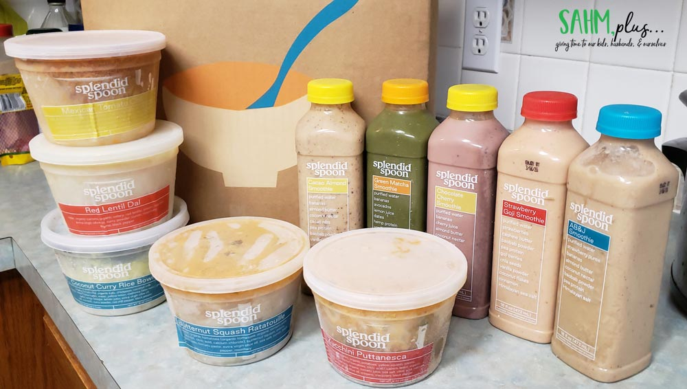 splendid spoon box of smoothies and lunches
