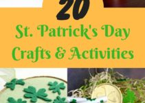 St Patrick's Day crafts and activities for kids of all ages and skill level