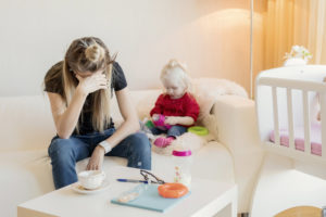 7 tips for coping with stay at home mom burnout. SAHM struggles from schedules to finding time for the elusive self care