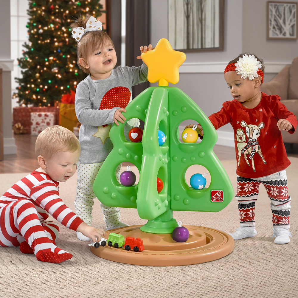 For the Little Ones Holiday Giveaway Step2 tree