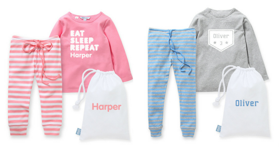For the Little Ones Holiday Giveaway stuck on you pajamas
