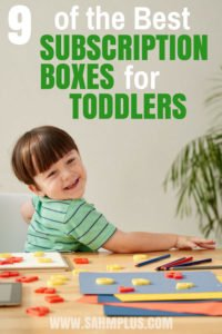 This guide for moms offers 9 best subscription boxes for toddlers