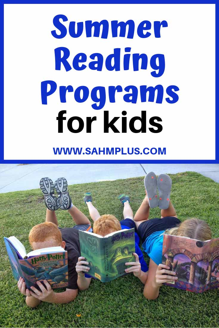 Summer Reading Programs for kids with incentives and activities to keep them entertained over the summer.  Libraries, book clubs, and more provide book logs and incentives to get kids to read