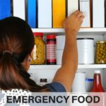 Survival food storage ideas for families. What foods should your family stock up on for emergency preparedness? Emergency preparedness food storage tips and tricks for families | www.sahmplus.com