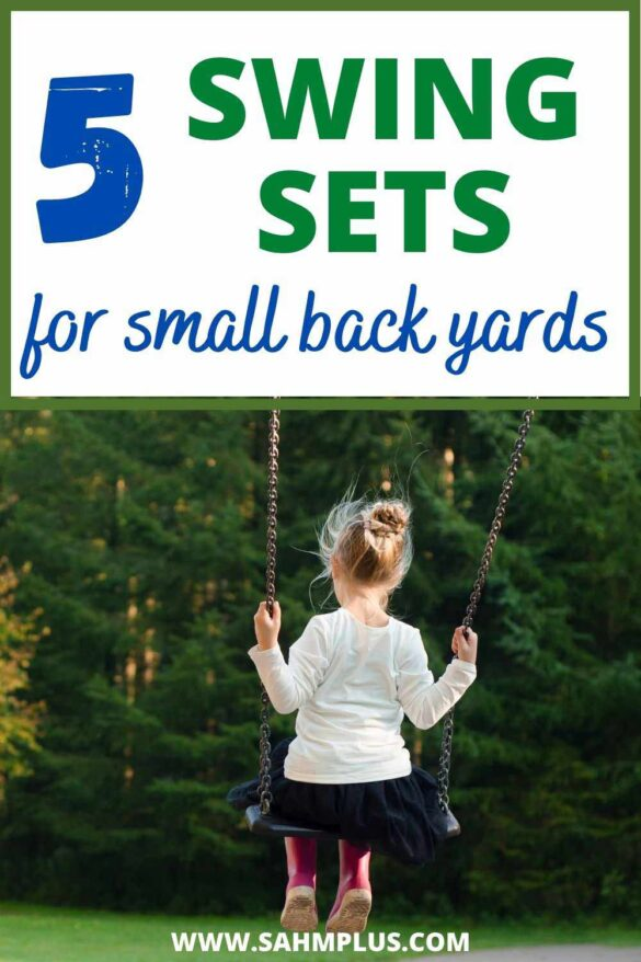 5 swing sets for small yards your kids will actually enjoy