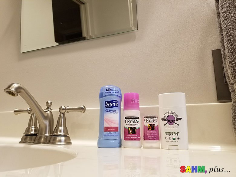 Is Switching to Aluminum Free Deodorant Going to Be Easy?   SAHM, plus...