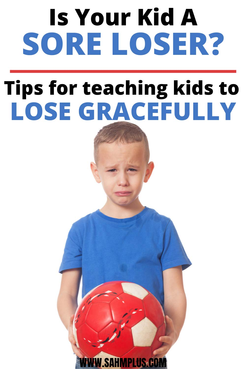 Worried your child is a sore loser?  How to help a sore loser and teach kids to lose gracefully.