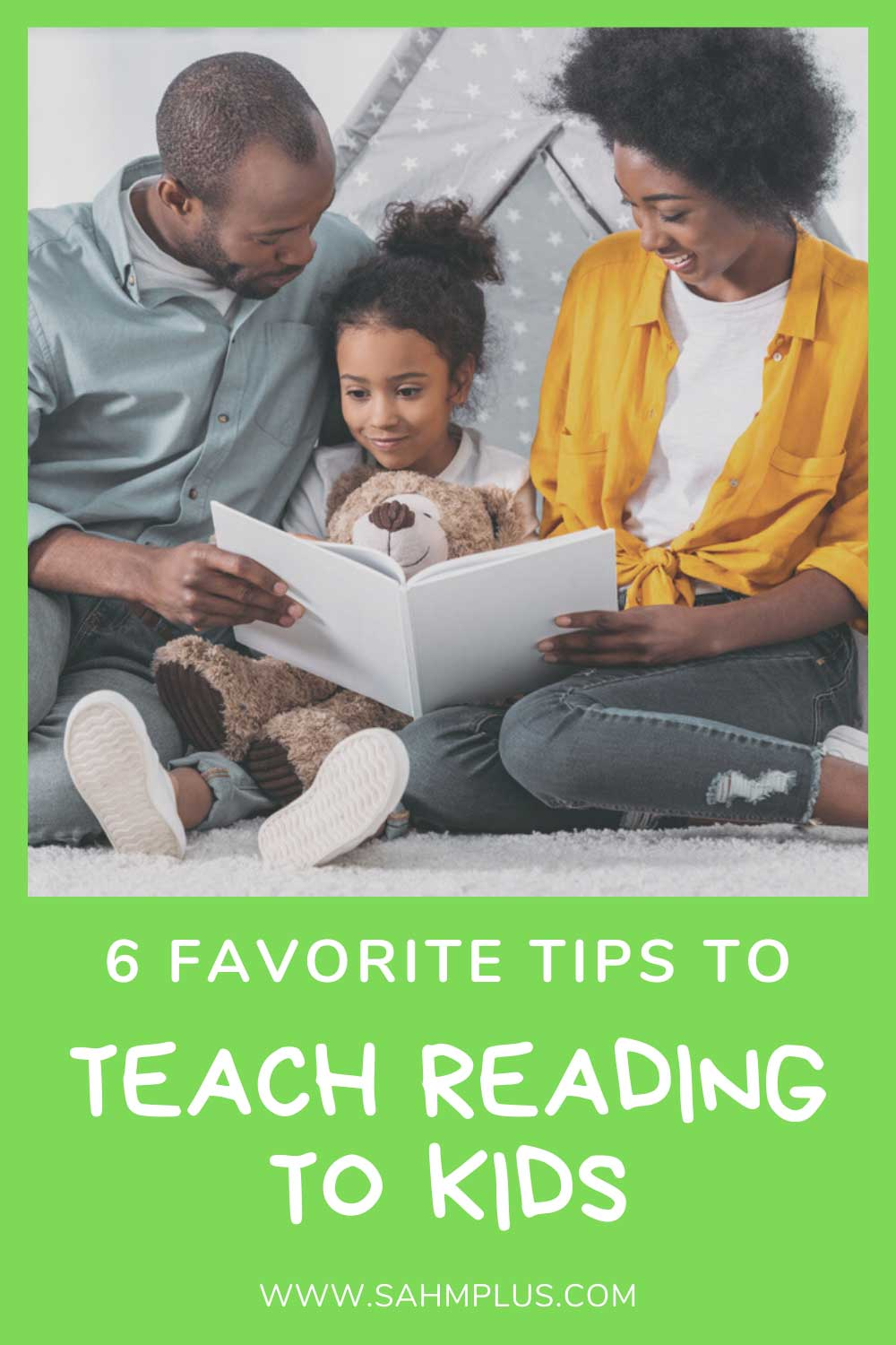 My favorite tips to teach a child to read!  How to teach reading to kids of any age - start early and read often