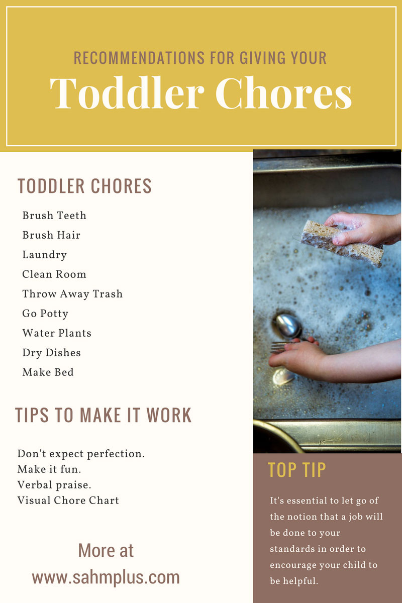 Toddler chores suggestions and how to make it work