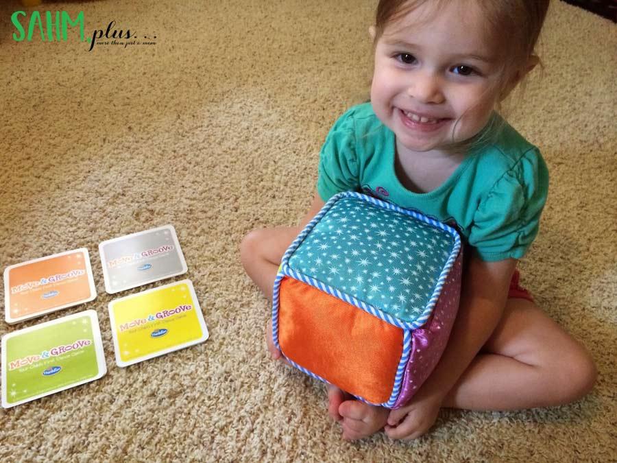 #toddlerfun #ThinkFun toddler game review Move & Groove