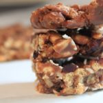 No-Bake Chocolatey Trail Mix Cereal Bars via www.sahmplus.com