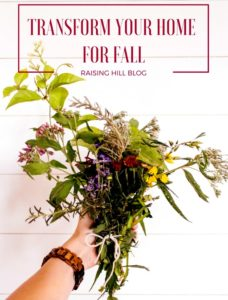 Transform your home for Fall