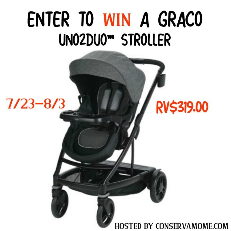 Graco UNO2DUO Stroller Giveaway image