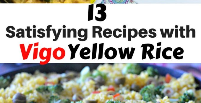 Bored of white rice? Maybe you're just tired of basic rice sides? Check out these great vigo yellow rice recipes! Vigo Yellow Rice dinners and sides for many tastes. www.sahmplus.com