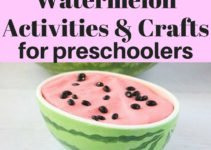 Summer and watermelons go together like peas in a pod. 12 adorable watermelon activities and crafts for preschoolers to extend the feeling of summer | www.sahmplus.com