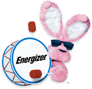 I admire my husband who is like the energizer bunny
