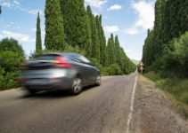car moving on road - where can you go family emergency prep plan