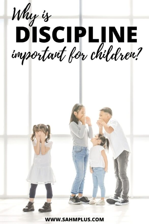 """kids bullying child with title """"Why is discipline important for children?"""""""