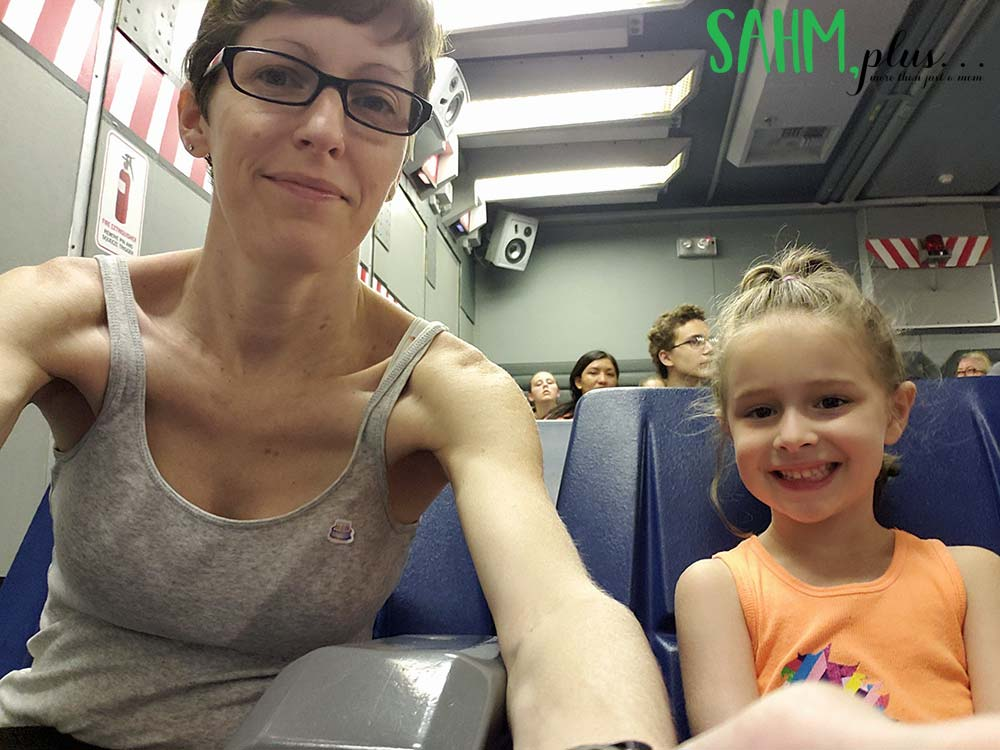 Wild Arctic ride with 6 year old at SeaWorld Orlando   sahmplus.com
