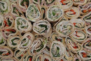 Turn the sandwich into a wrap for a fun twist on the usual.